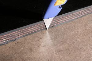 сшивка ленты ленточного конвейера вулкан
