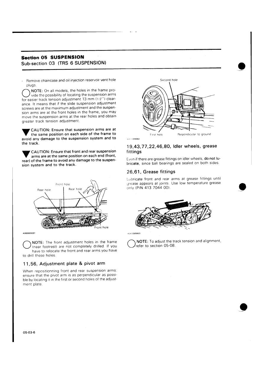 Snowmobile Ski Doo Bombardier (1985 year)  Manual - part 103