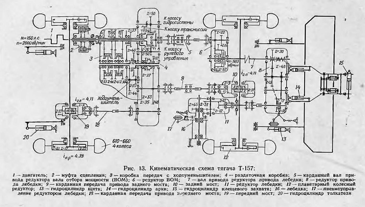 описание схемы электрической зил 433362