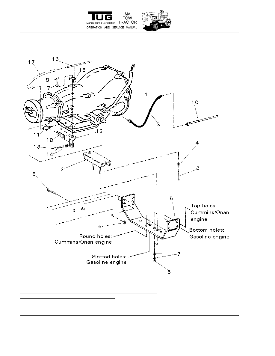 Model Ma Tow Tractor  Manual