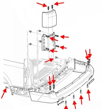снятие бампера т5 транспортер