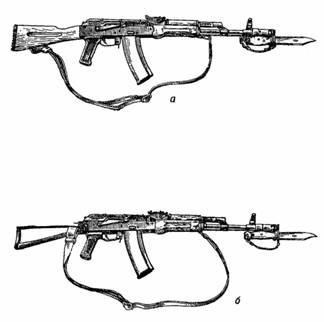 Назначение и боевые свойства автомата (пулемета) Калашникова