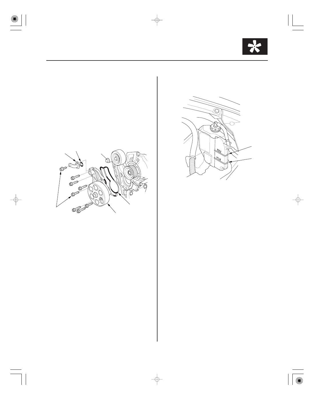 2009 Acura Csx Water Pump Manual Mdx Wiring Schematic 2000 Honda Accord Schematics