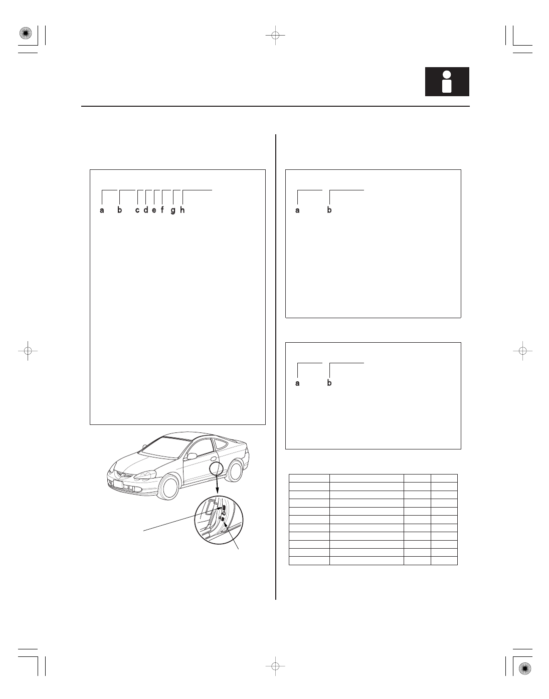 Acura RSX Honda Integra  Manual - part 2