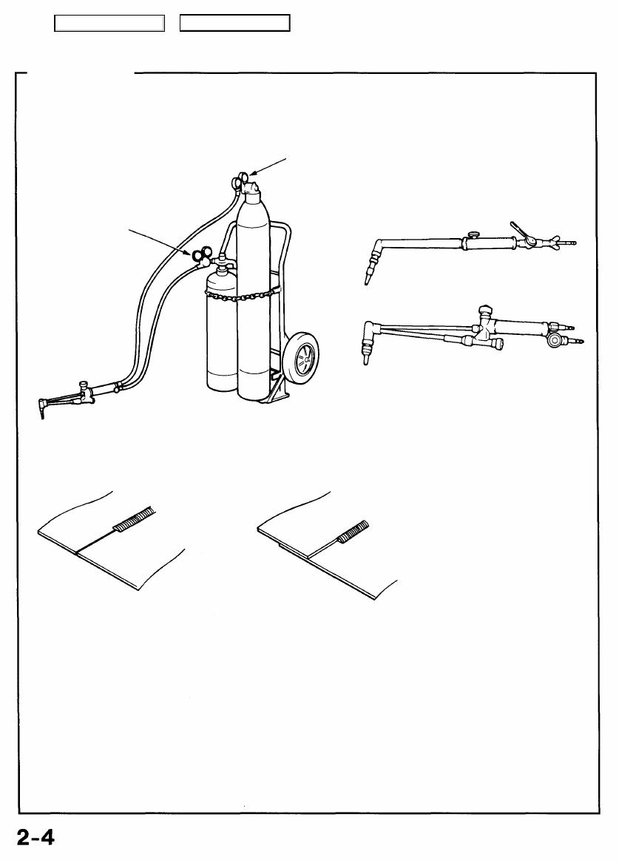 Acura Tl 1995 1998 Body Repair Manual Part 3 Diagram Of Welding Tools Methods