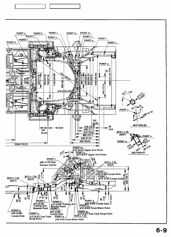 acura tl 1995 1998 body repair manual part 24 rh zinref ru 1997 Acura Inspire 1999 Acura TL
