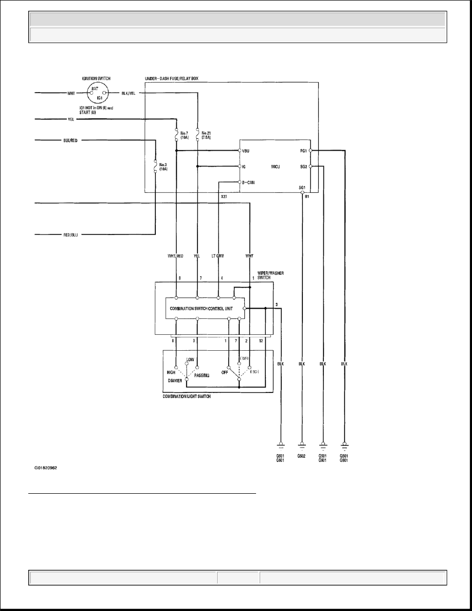 Acura Tsx Honda Accord Cl Manual Part 20 Combination Light Switch Wiring Diagram 8 Exterior Lights 2 Of Canada
