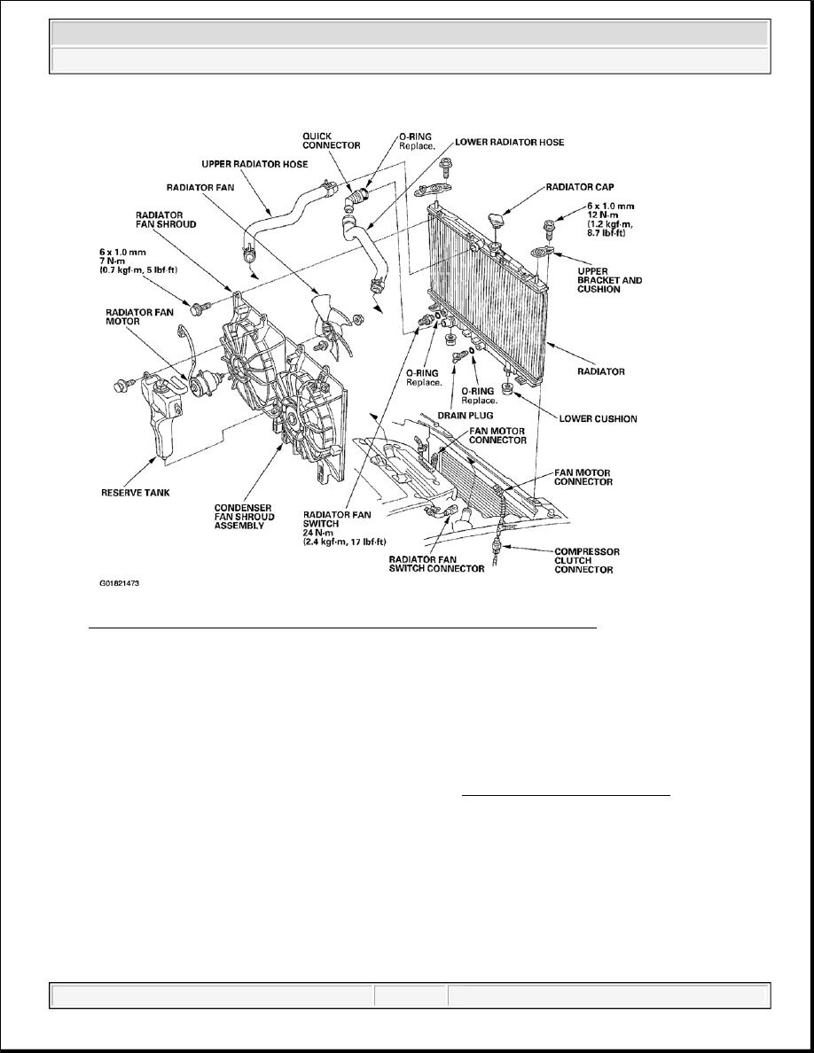 Acura TSX / Honda Accord CL. Manual - part 398 | Acura Engine Cooling Diagram |  | Zinref.ru