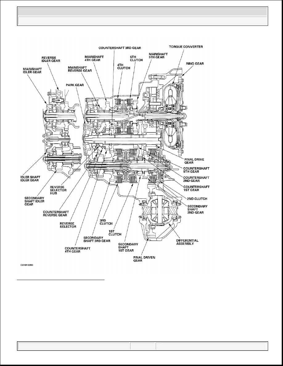 Acura Tsx Honda Accord Cl Manual Part 929 Differential Gear Schematic