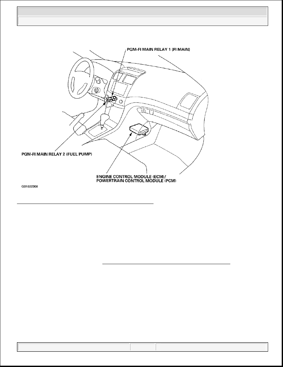 Acura Fuel Pump Diagram - Wiring Diagram Networks