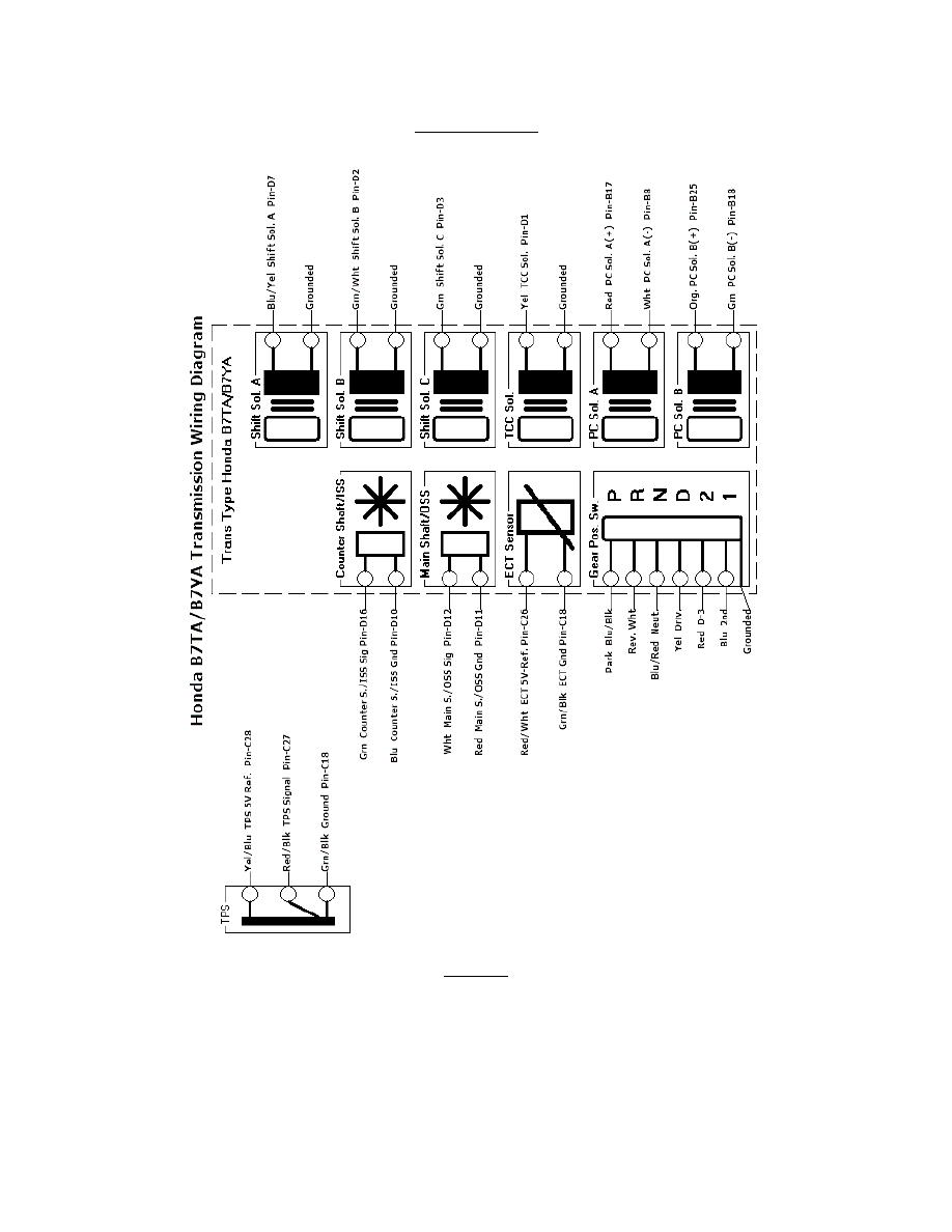 Acura Honda Transmission Manual Part 32 155 Wiring Diagram