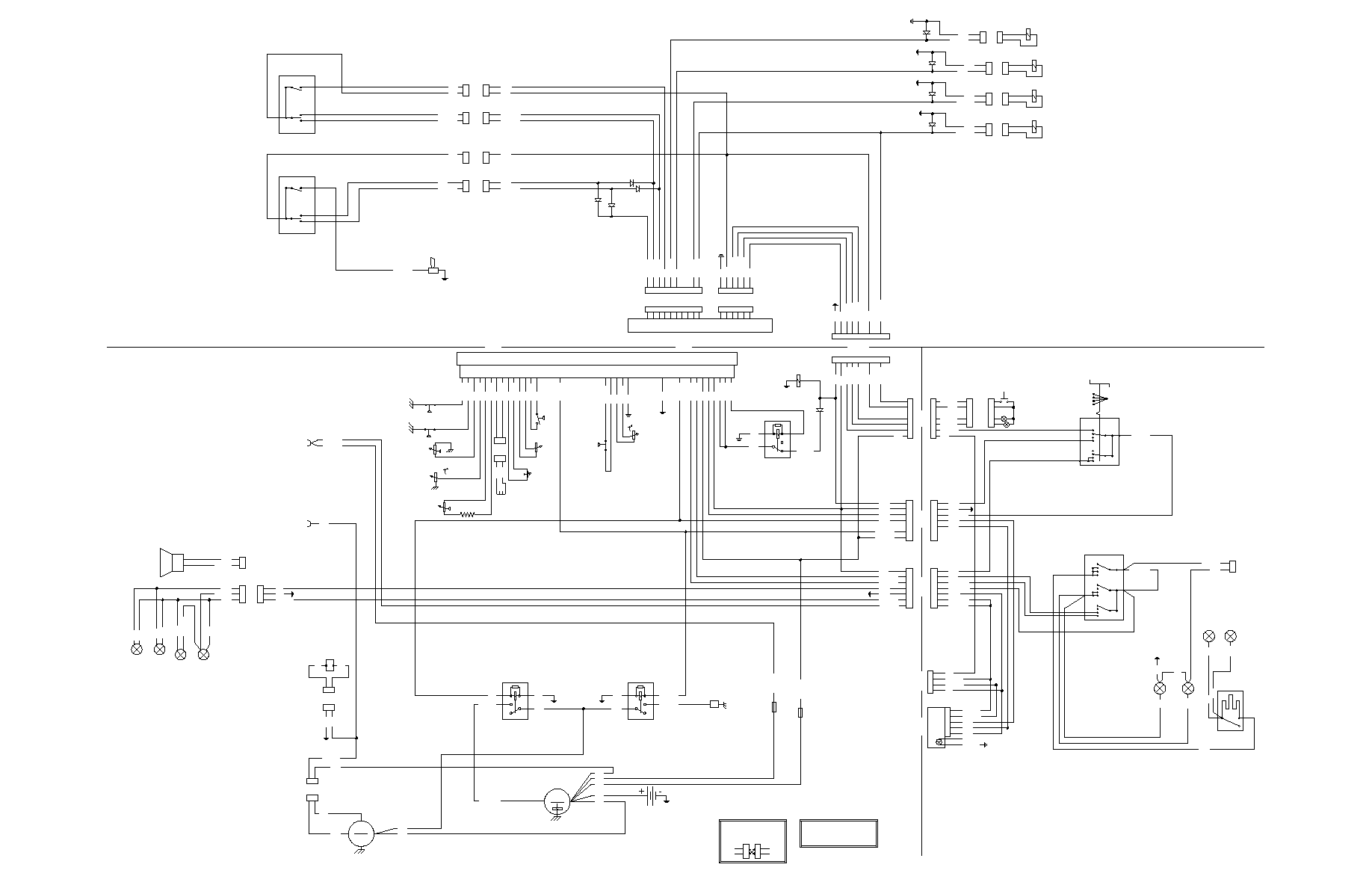 bobcat 853 wiring schematic loader bobcat 853  853h manual part 44  loader bobcat 853  853h manual part 44