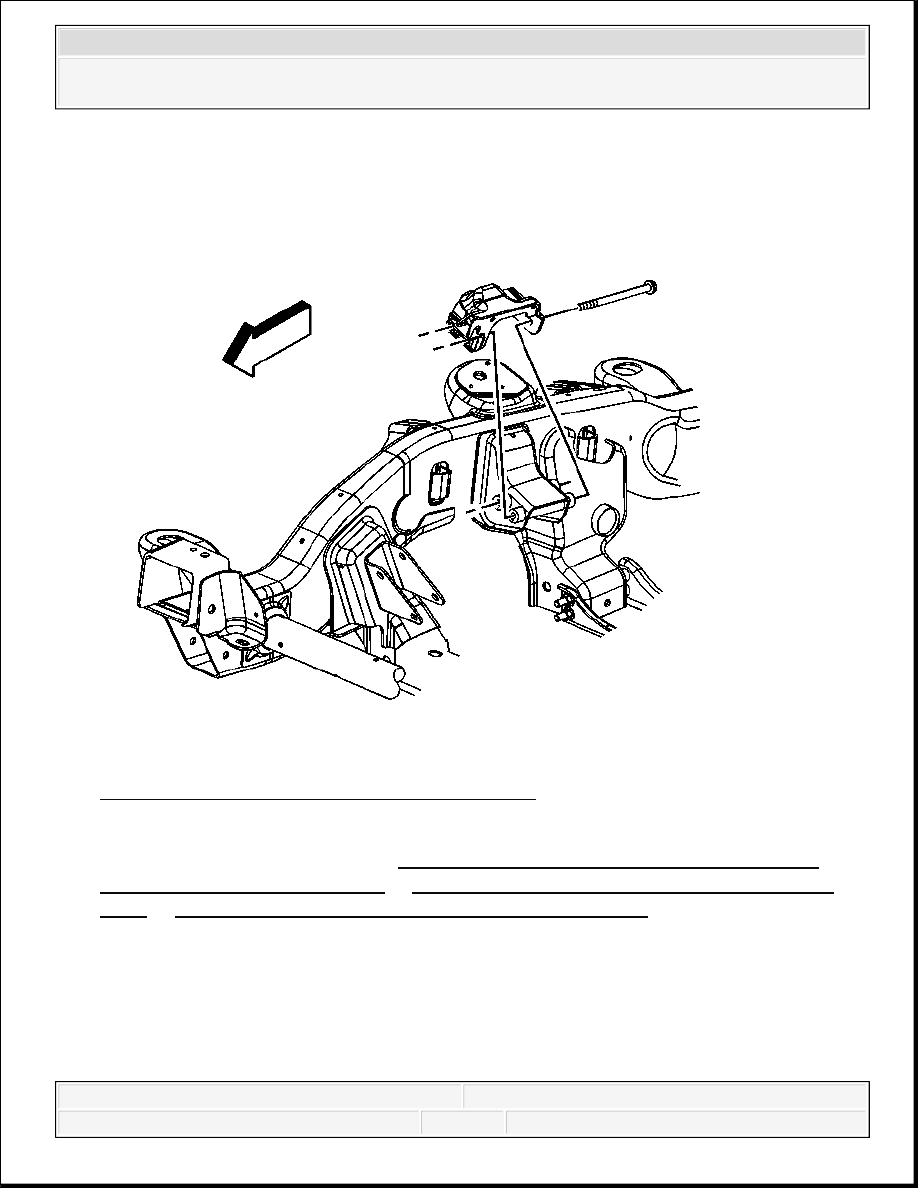 Chevrolet Silverado Gmc Sierra Manual Part 1921 Gm Ly6 Engine Diagram Mount Bracket Replacement Right Side 2500