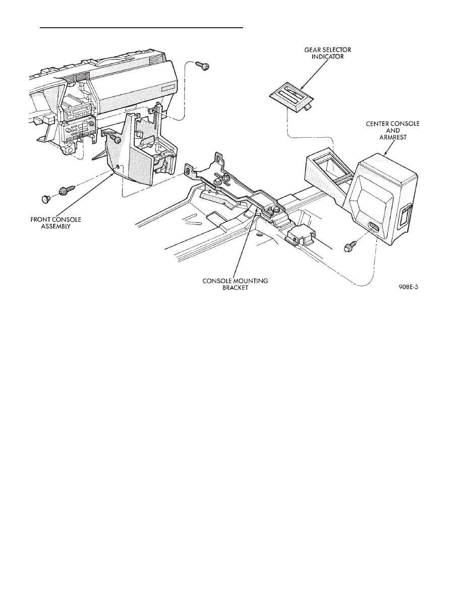 Chrysler Le Baron, Dodge Dynasty, Plymouth Acclaim  Manual - part 315
