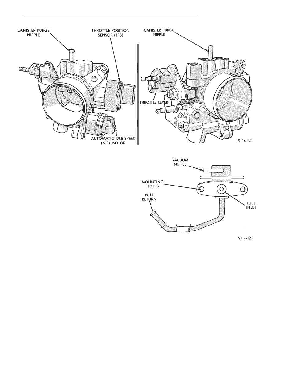 Chrysler Town Country Voyager Dodge Caravan Plymouth Engine Diagram Manual Part 29