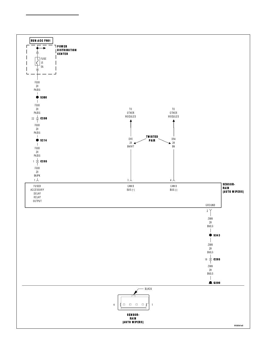 Chrysler 300 Light Sensor Diagram Electrical Wiring Diagrams 2007 Fuse Box Manual Touring 300c Dodge Magnum Part 375 Schematics