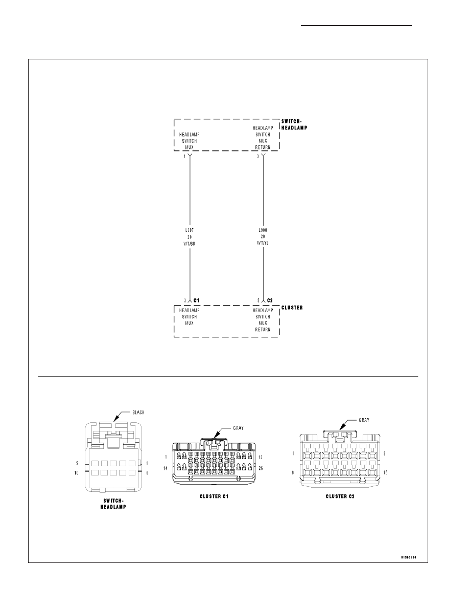 Chrysler 300 Touring 300c Dodge Magnum Manual Part 508 Mopar Wiring Diagrams Instrument Panel