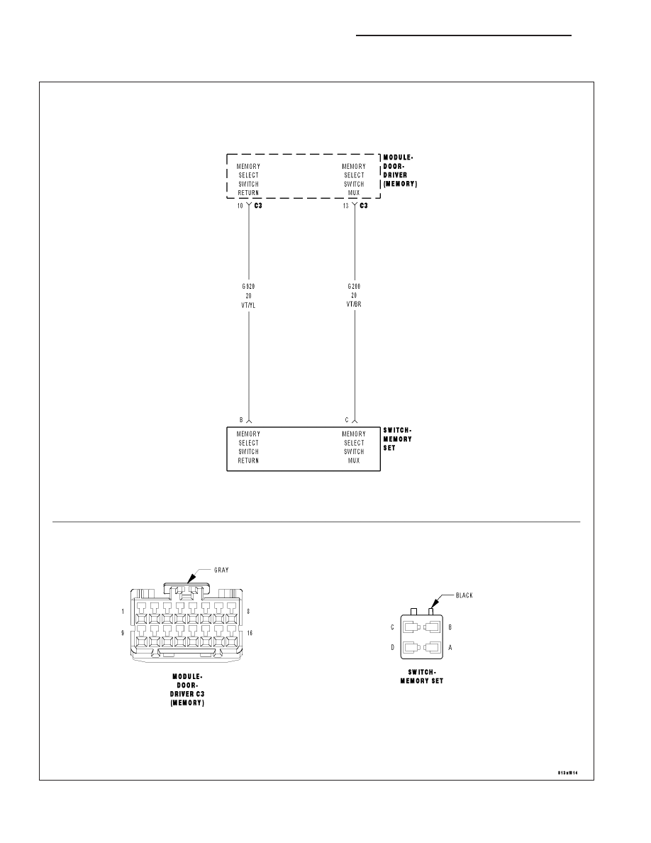 P200 Wiring Diagram Chrysler 300 Touring 300c Dodge Magnum Manual Part 600
