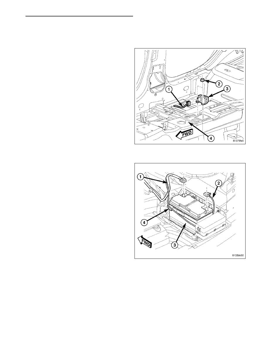 chrysler 300 300 touring 300c dodge magnum manual part 237 Rear Engine Rear-Wheel -Drive Layout sensor dynamics esp