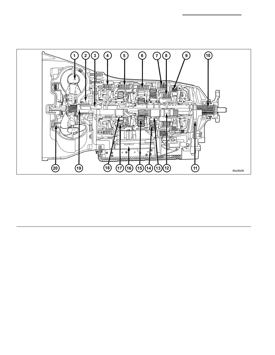 Chrysler 300 Touring 300c Dodge Magnum Manual Part 1932 Wiring Diagram Automatic Transmission Nag1 Service Information