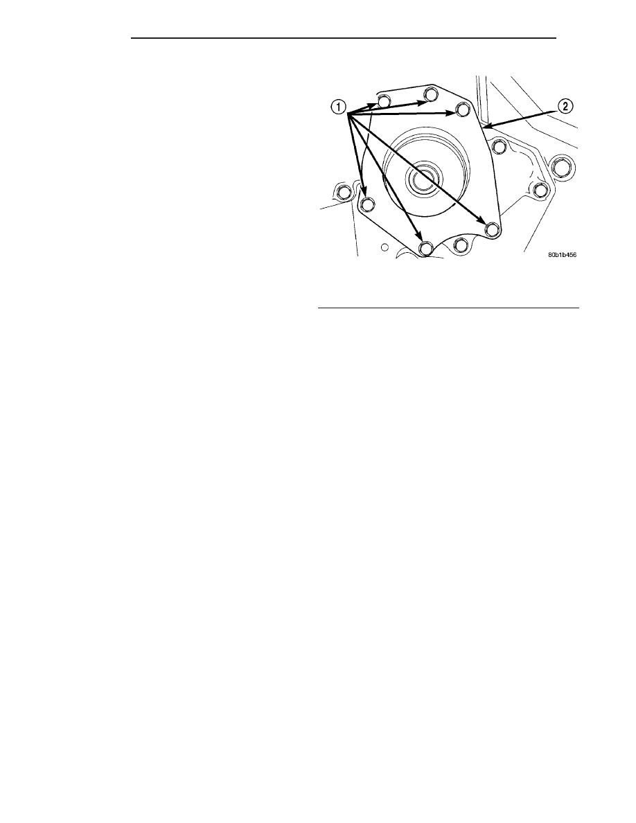 Chrysler 300m Dodge Interpid Manual Part 55 2000 Timing Belt Water Pump 35l