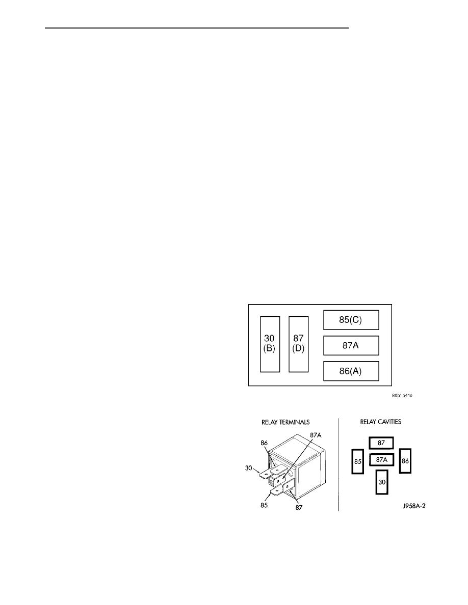chrysler 300m, dodge interpid manual part 72 SPDT Relay Wiring Diagram