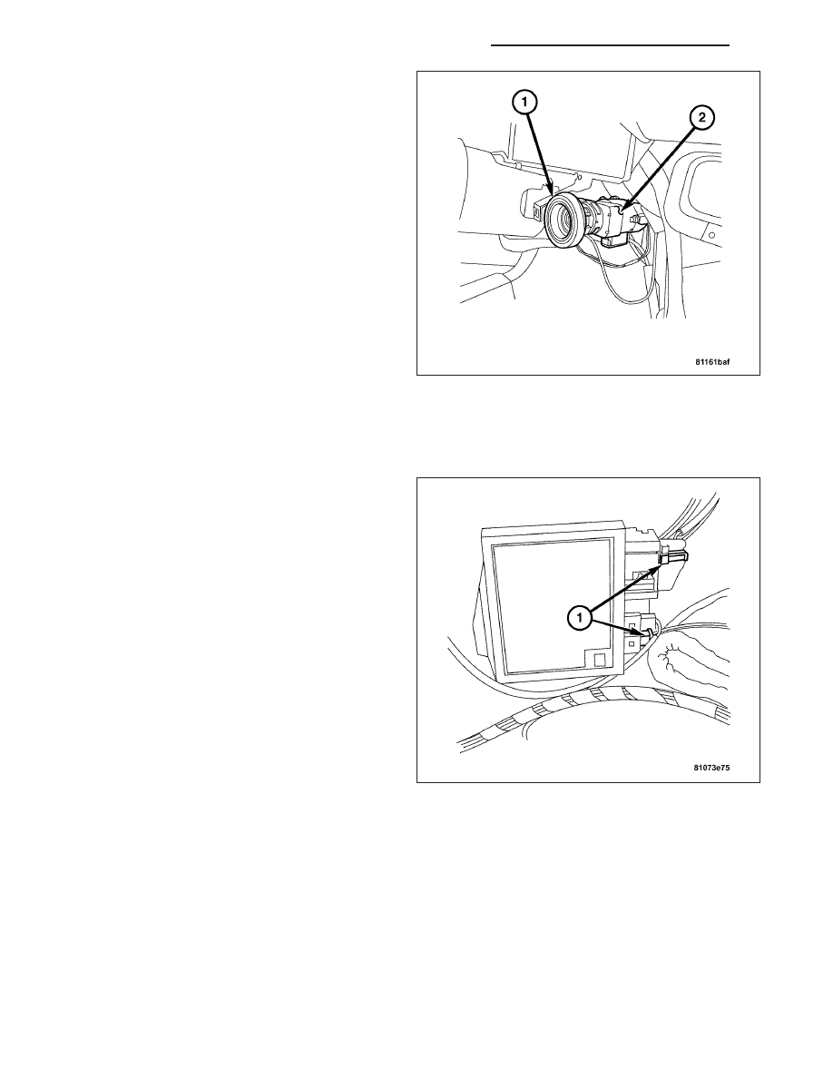 Chrysler Crossfire Manual Part 371 2005 Wiring Harness Note Before Disassembly The Wire Routing For Proper Reassembly