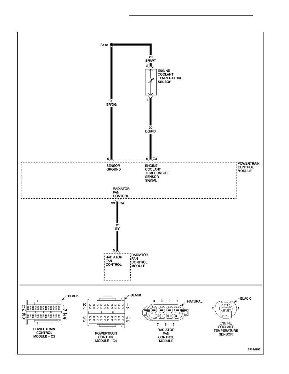 Chrysler Crossfire Manual Part 479 2 7 Engine Diagram P0116 Coolant Temperature Sensor Performance