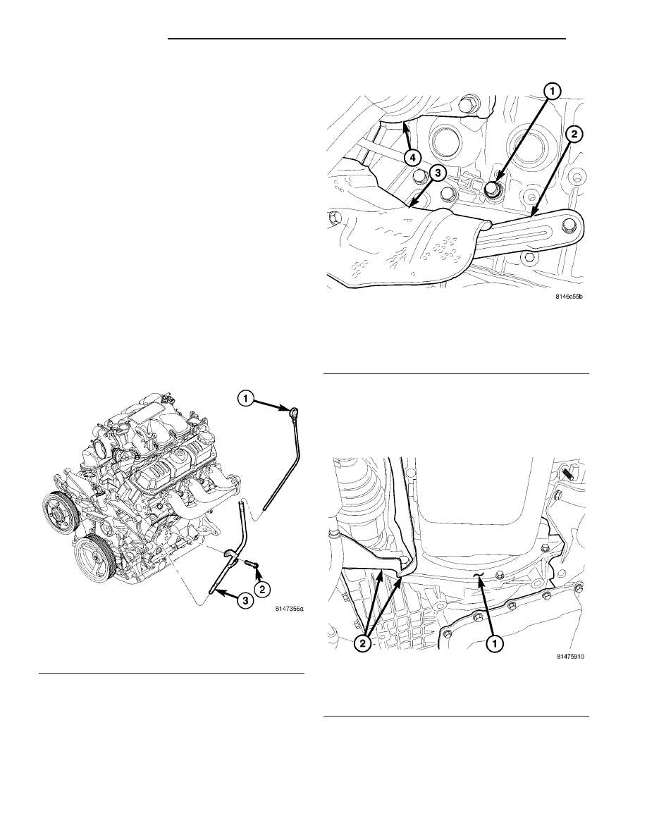 Chrysler Pacifica Manual Part 707 2006 Window Switch Wiring Diagram 3 Disconnect Oil Pressure Electrical Con