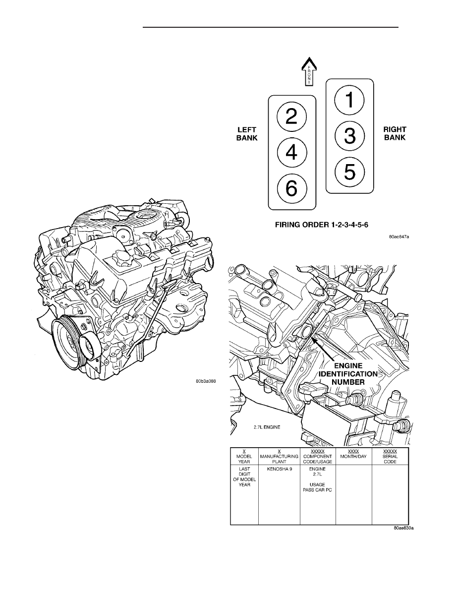 Chrysler 2 7l Engine Diagram