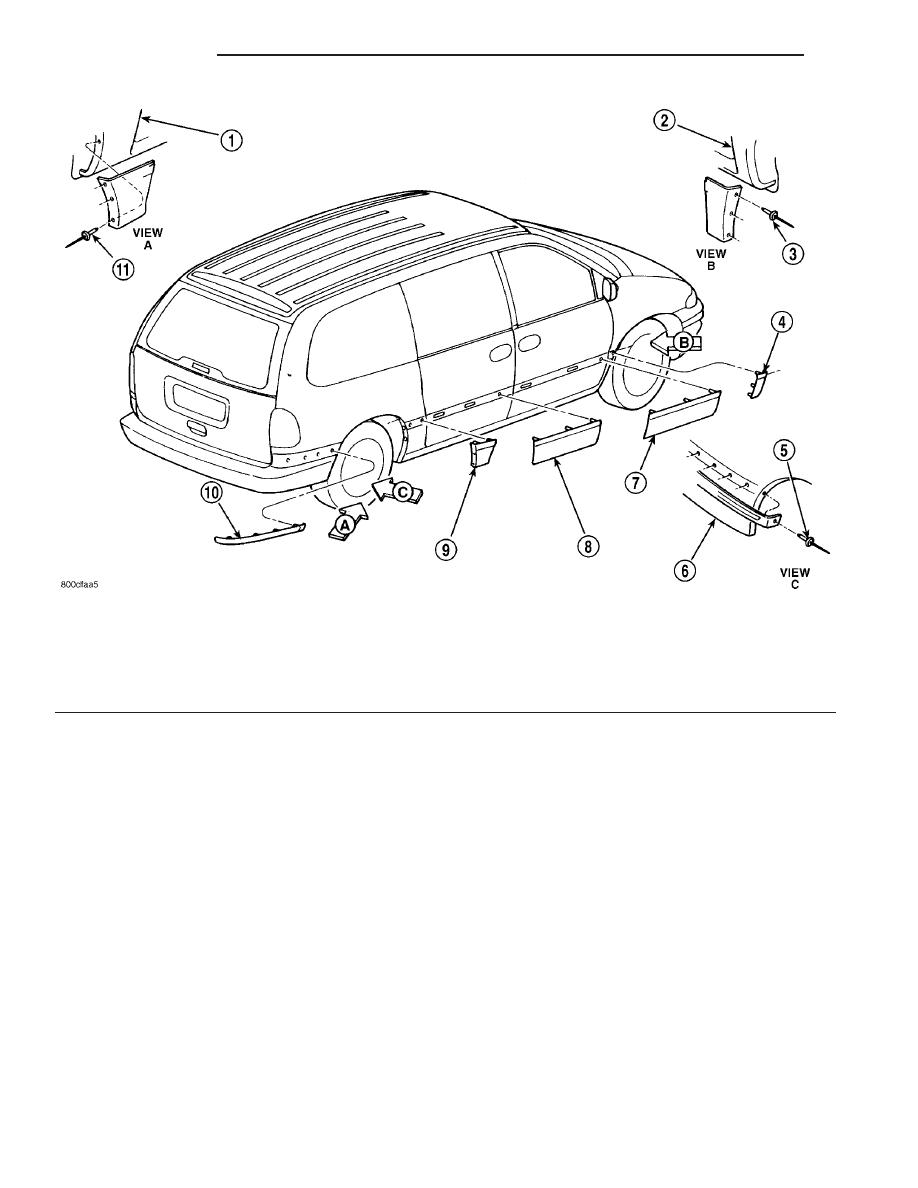 Dodge Grand Caravan Panel Cowl Top Manual Guide