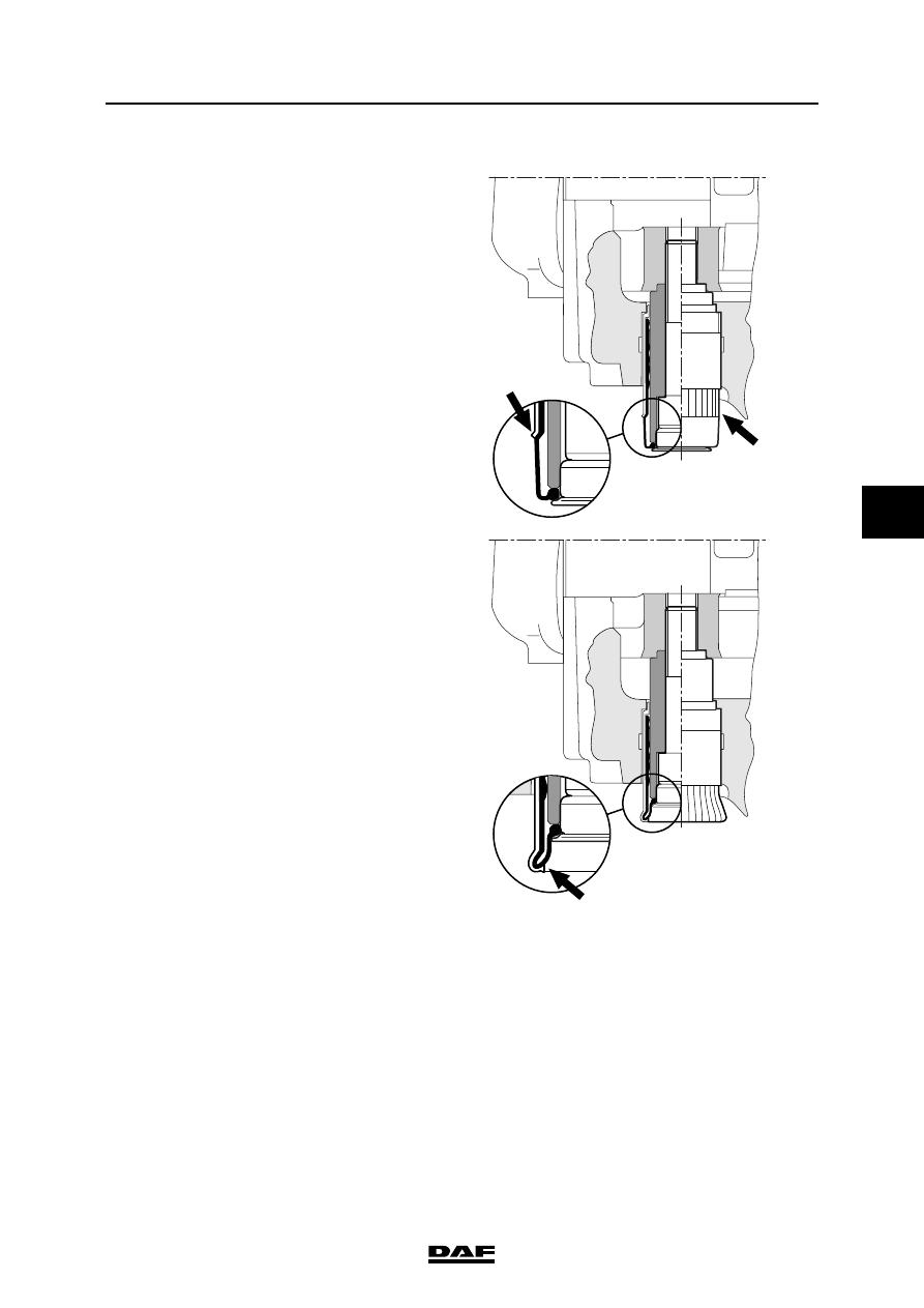 Daf Cf65 Cf75 Cf85 Series Manual Part 1196 This Application Diagram Indicates How Loadsensing Valves Control