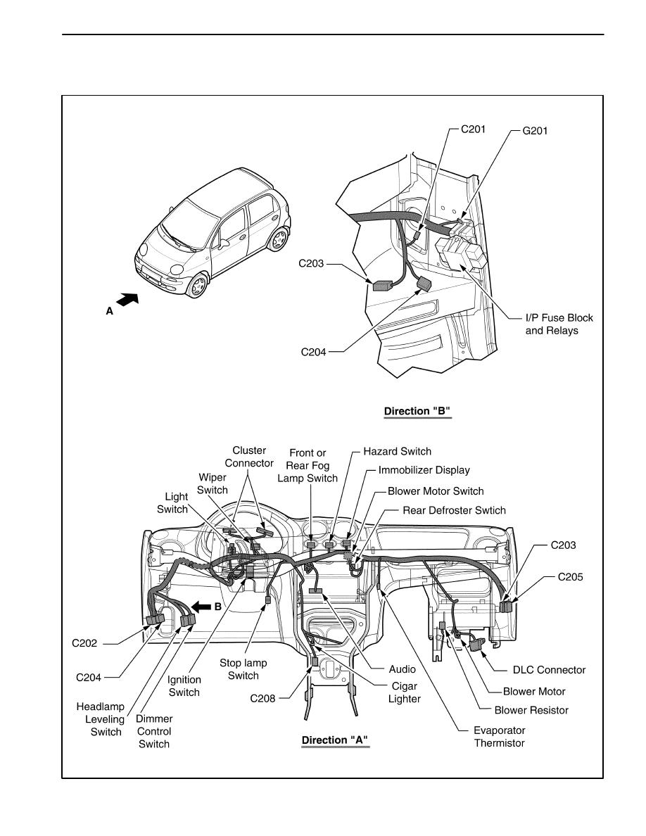 Chevrolet Matiz Cigarette Lighter Fuse
