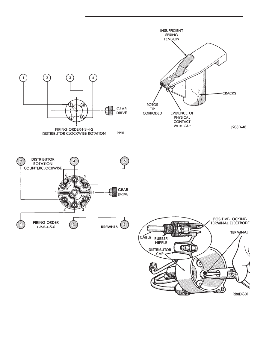 chrysler le baron dodge dynasty plymouth acclaim manual part 285 Dodge Dakota 3 7 Firing Order