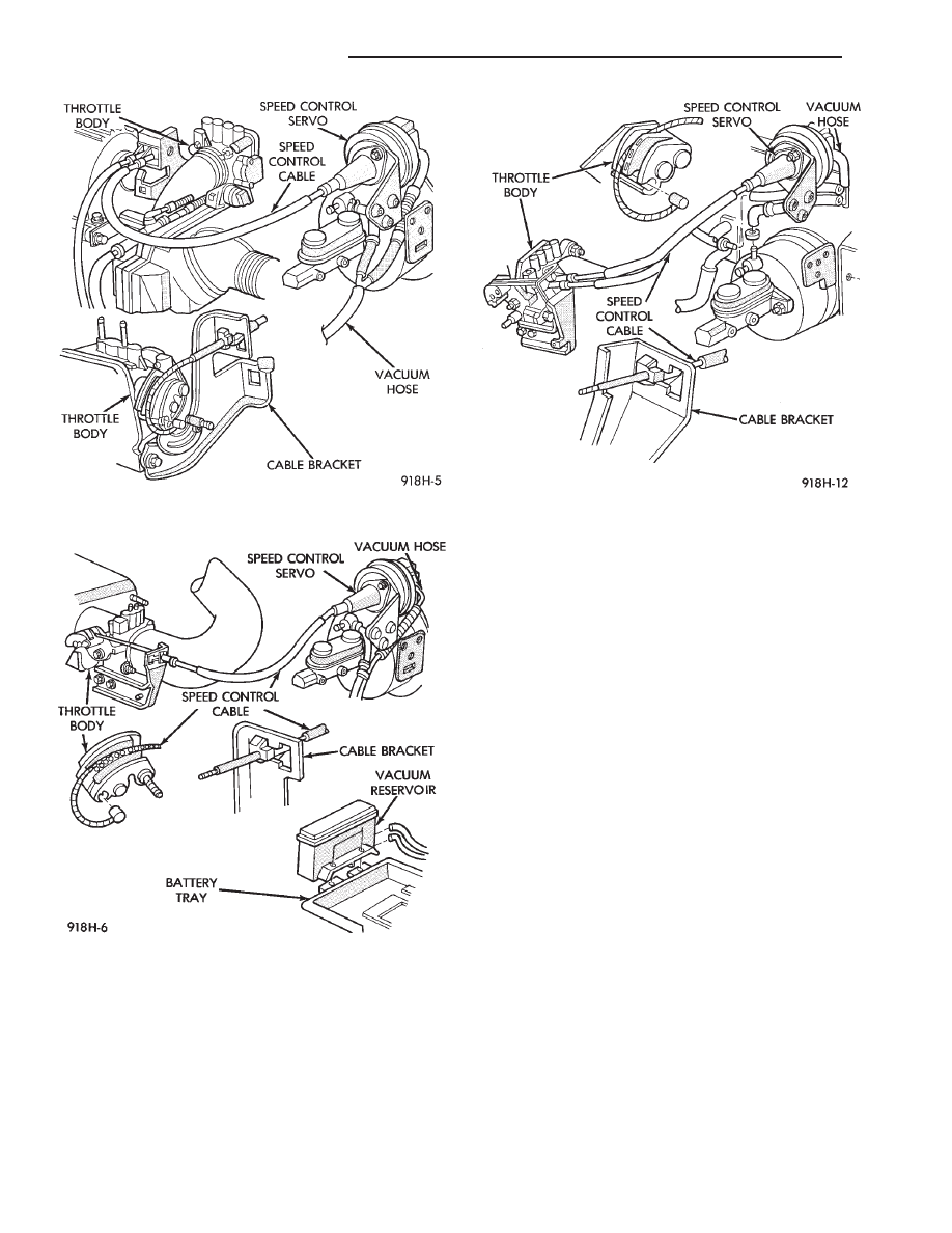 Chrysler Le Baron Dodge Dynasty Plymouth Acclaim Manual Part 325 Cable Wire Harness Resume To After Disengaging The Vehicle Speed