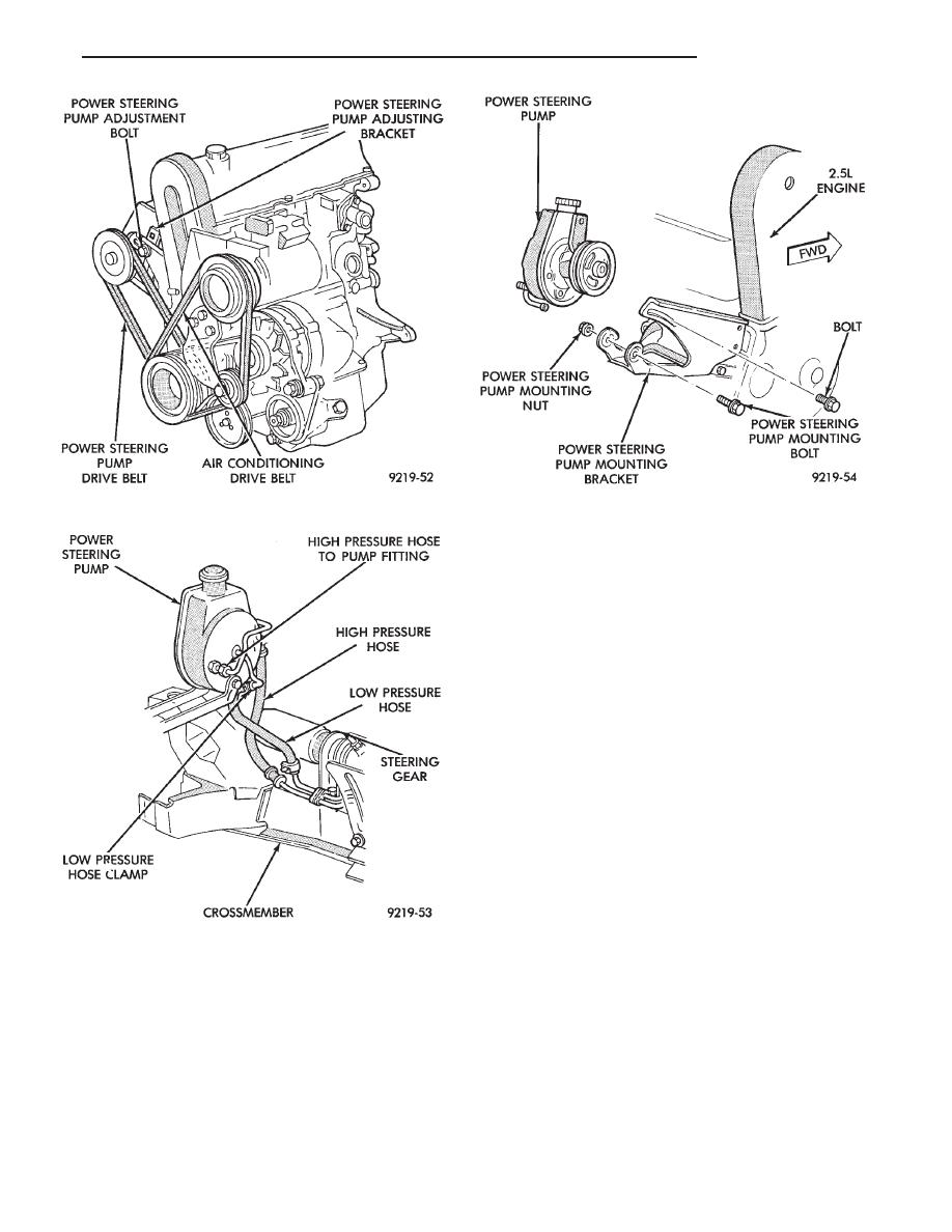 Chrysler Le Baron Dodge Dynasty Plymouth Acclaim Manual
