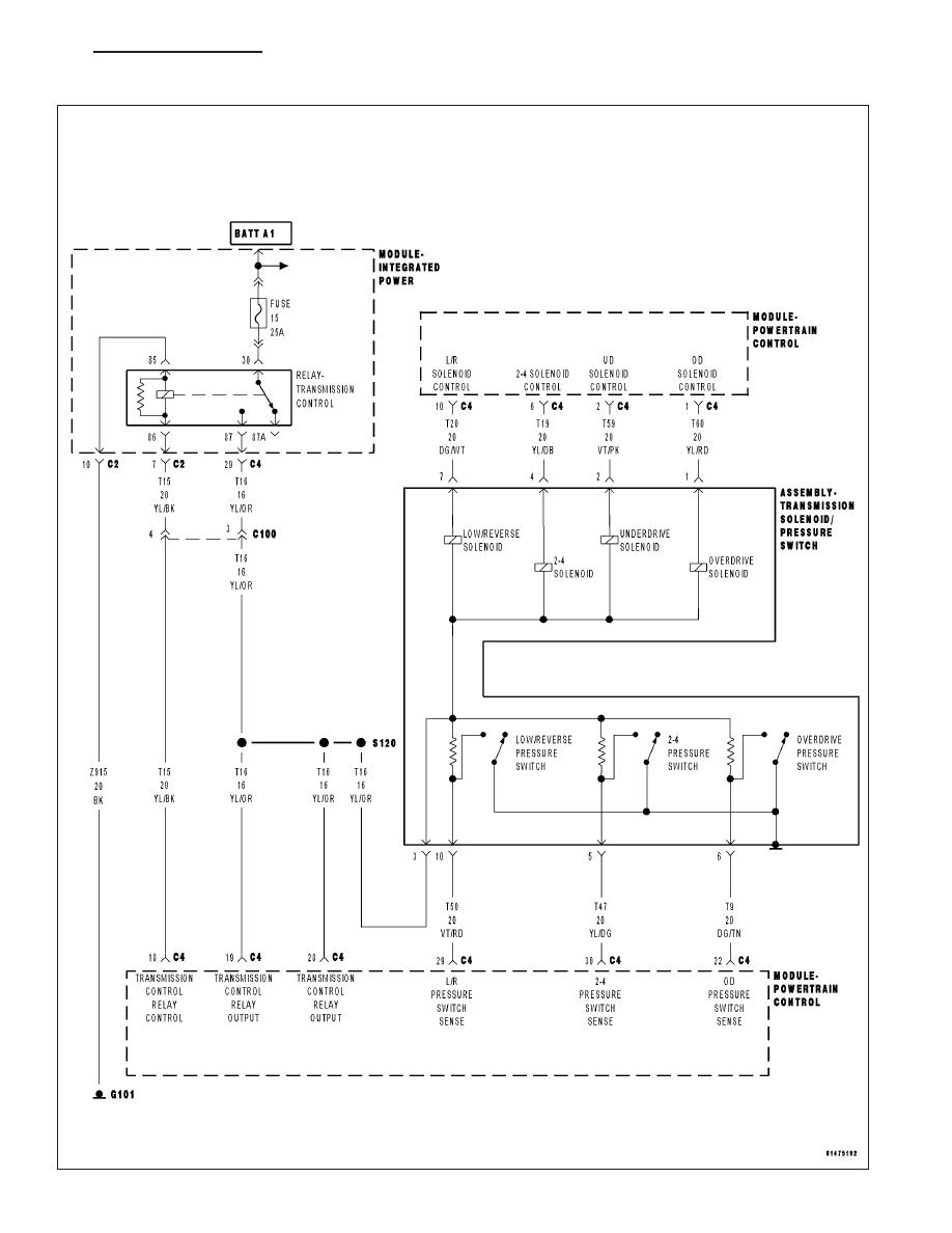 42rle Diagram | Wiring Diagram on