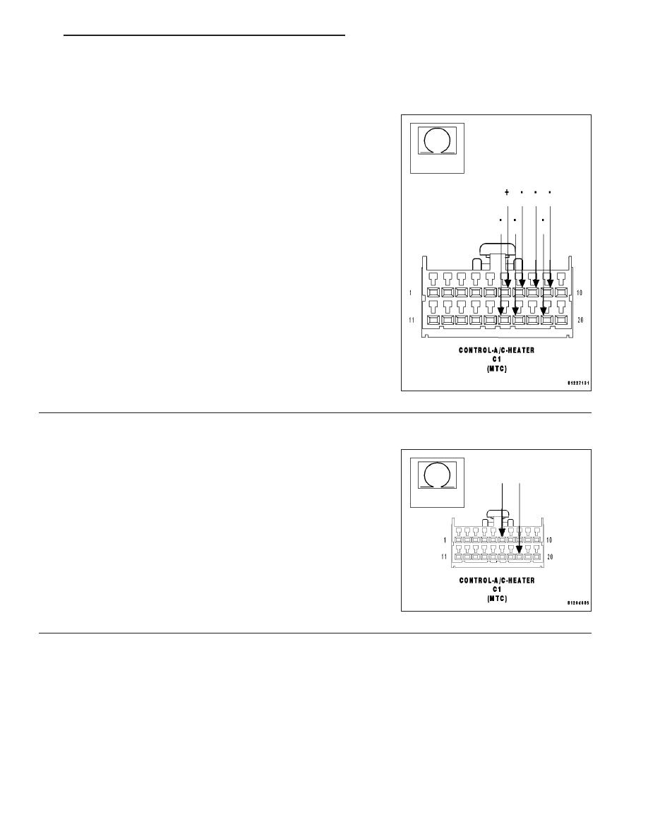 Dodge Durango Hb Manual Part 1470 C61 Wiring Diagram B104dblend Door Control Circuit Low Mtc Continued