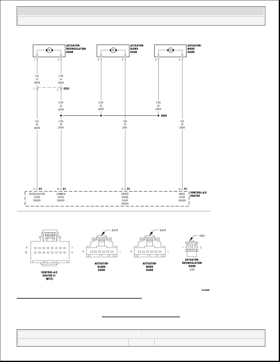 2007 Dodge Nitro Blend Door Motor Schematics Automotive Wiring Ram 1500 Actuator Manual Part 699 Rh Zinref Ru Parts