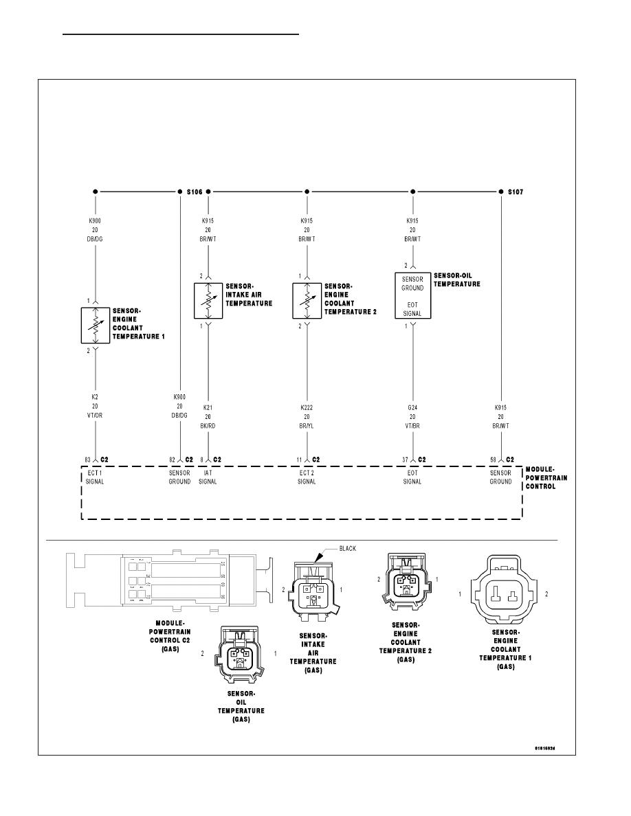 Dodge Caliber Manual Part 700 Temperature Sensor Circuit Schematic P0113 Intake Air High