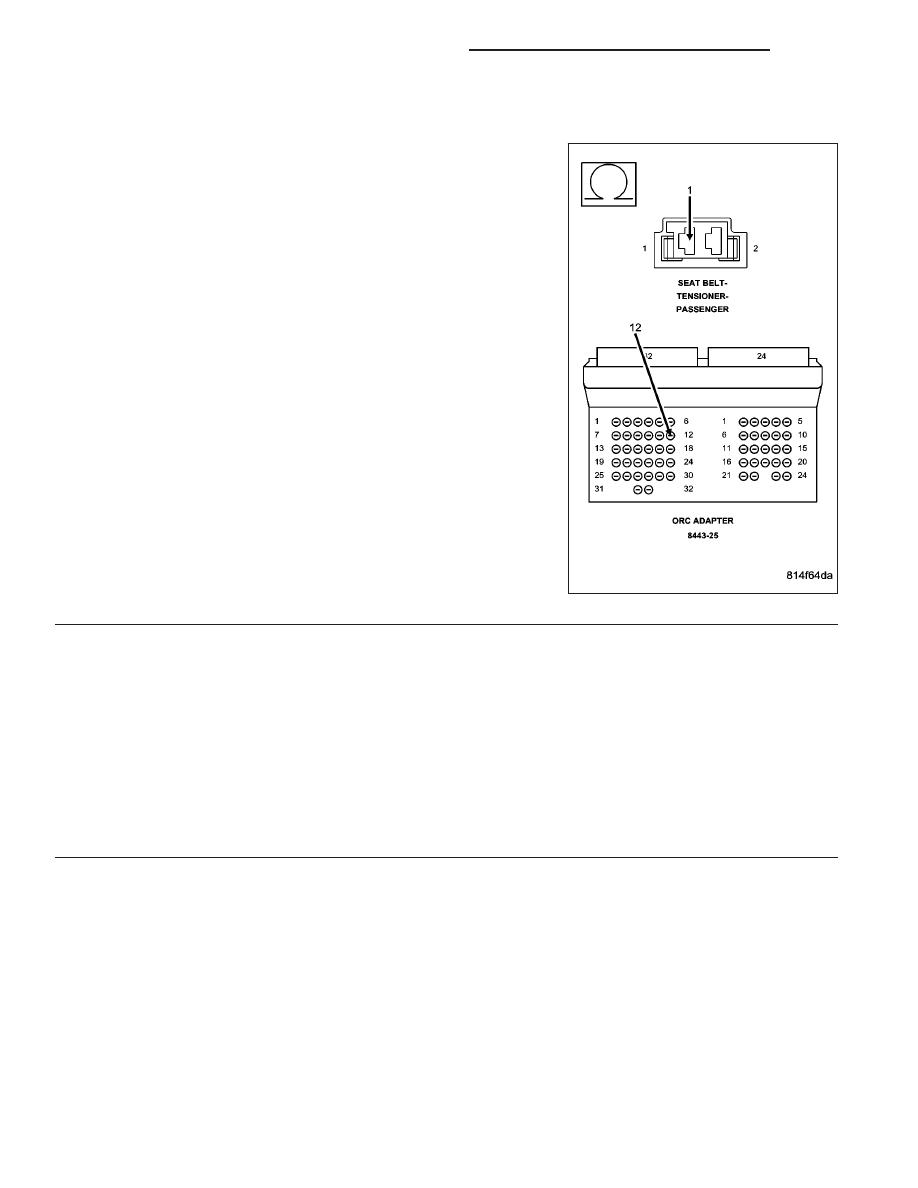 Dodge Ram Truck 1500 2500 3500 Manual Part 533 Belt Tensioner Diagram Passenger Seat Circuit Open Continued
