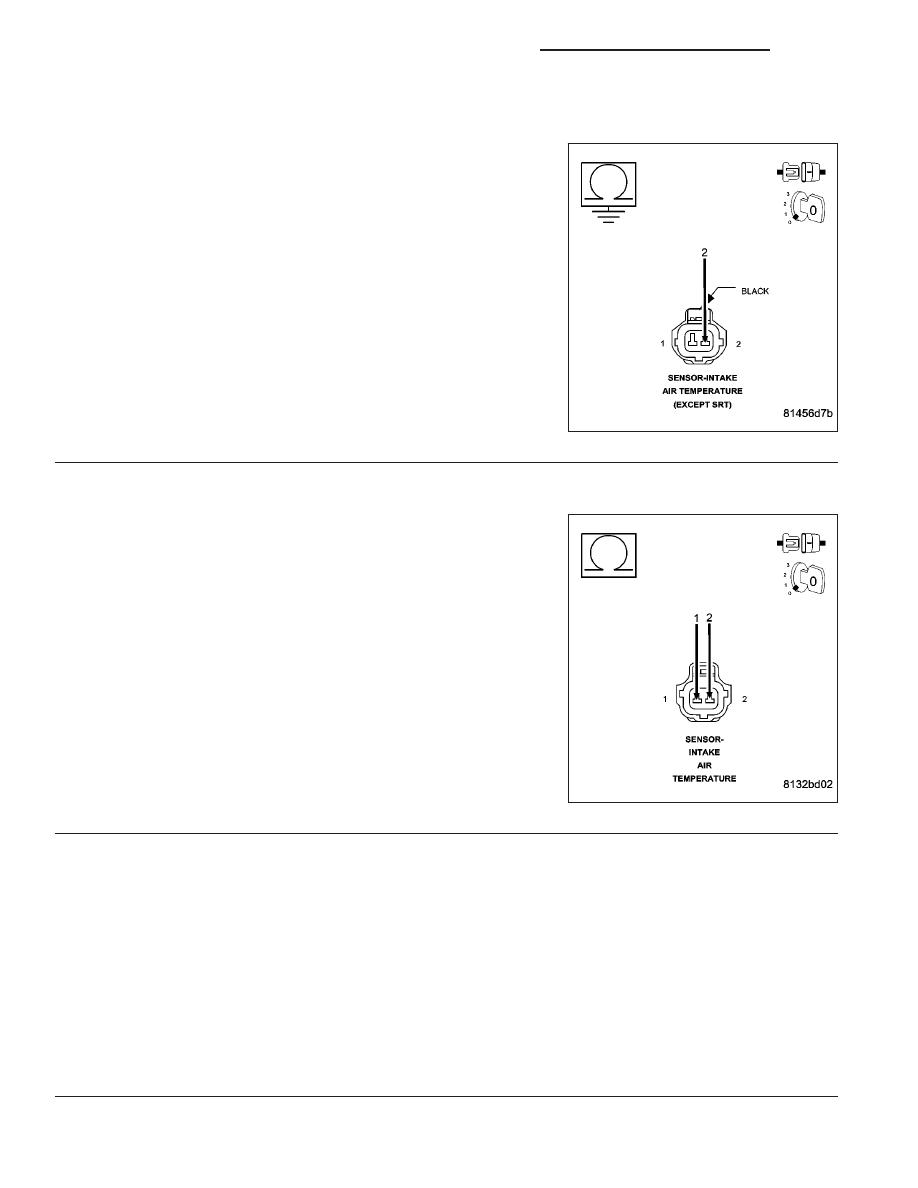 Dodge Ram Truck 1500 2500 3500 Manual Part 792 Circuit For Resistance Temperature Detector Sensorcircuit P0112 Intake Air Sensor Low Continued