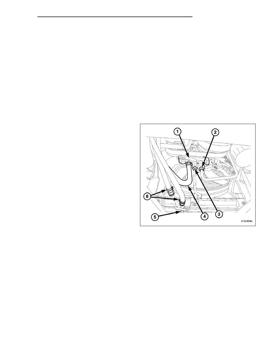 Dodge Ram Power Steering Hose Diagram