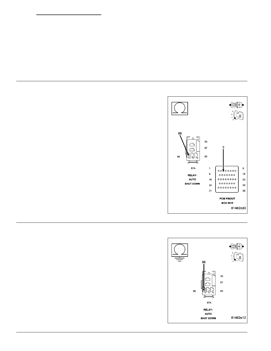 Dodge Ram Truck 1500 2500 3500 Manual Part 950 Schematic Diagram Relaycontrol Controlcircuit Circuit P0685 Auto Shutdown Relay Control Continued