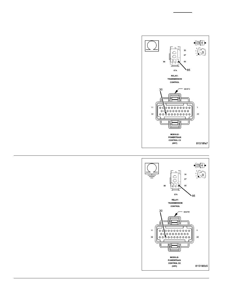 Dodge Ram Truck 1500 2500 3500 Manual Part 1716 Schematic Diagram Relaycontrol Controlcircuit Circuit P1765 Trans 12 Volt Supply Relay Control Gas Continued