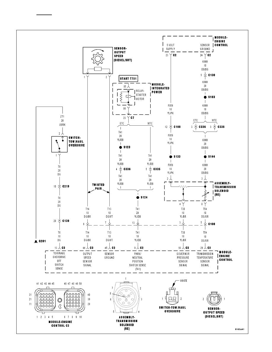 47re Transmission Wiring Diagram Dodge Ram Truck Manual Part Zinref Ru E 918x1188