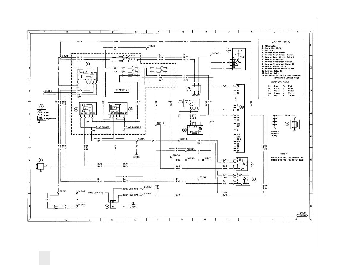 Ford Fiesta 1989 1995 Instruction Part 62 Festiva Wiring Diagram Diagrams