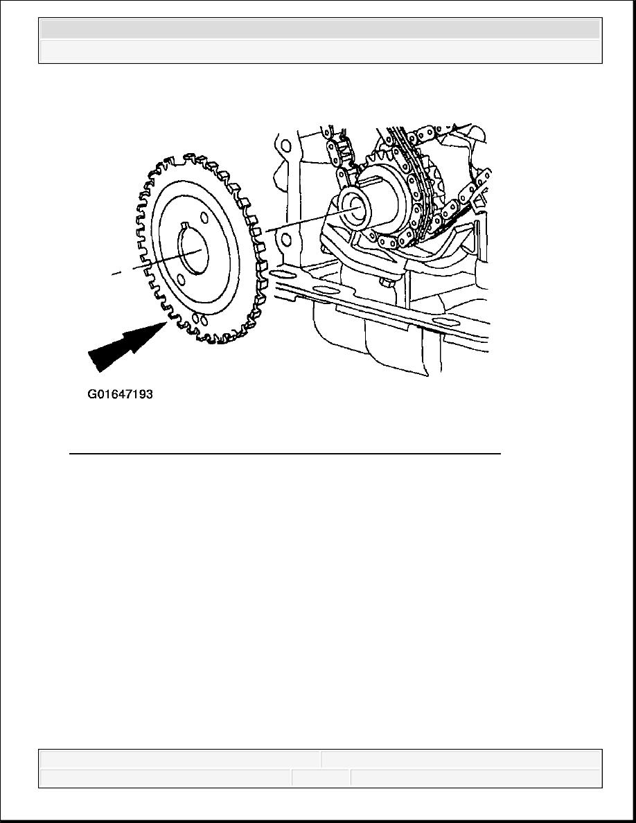 Ford F150 Pickup. Instruction - part 846  Ford Engine Diagram Crankshaft on