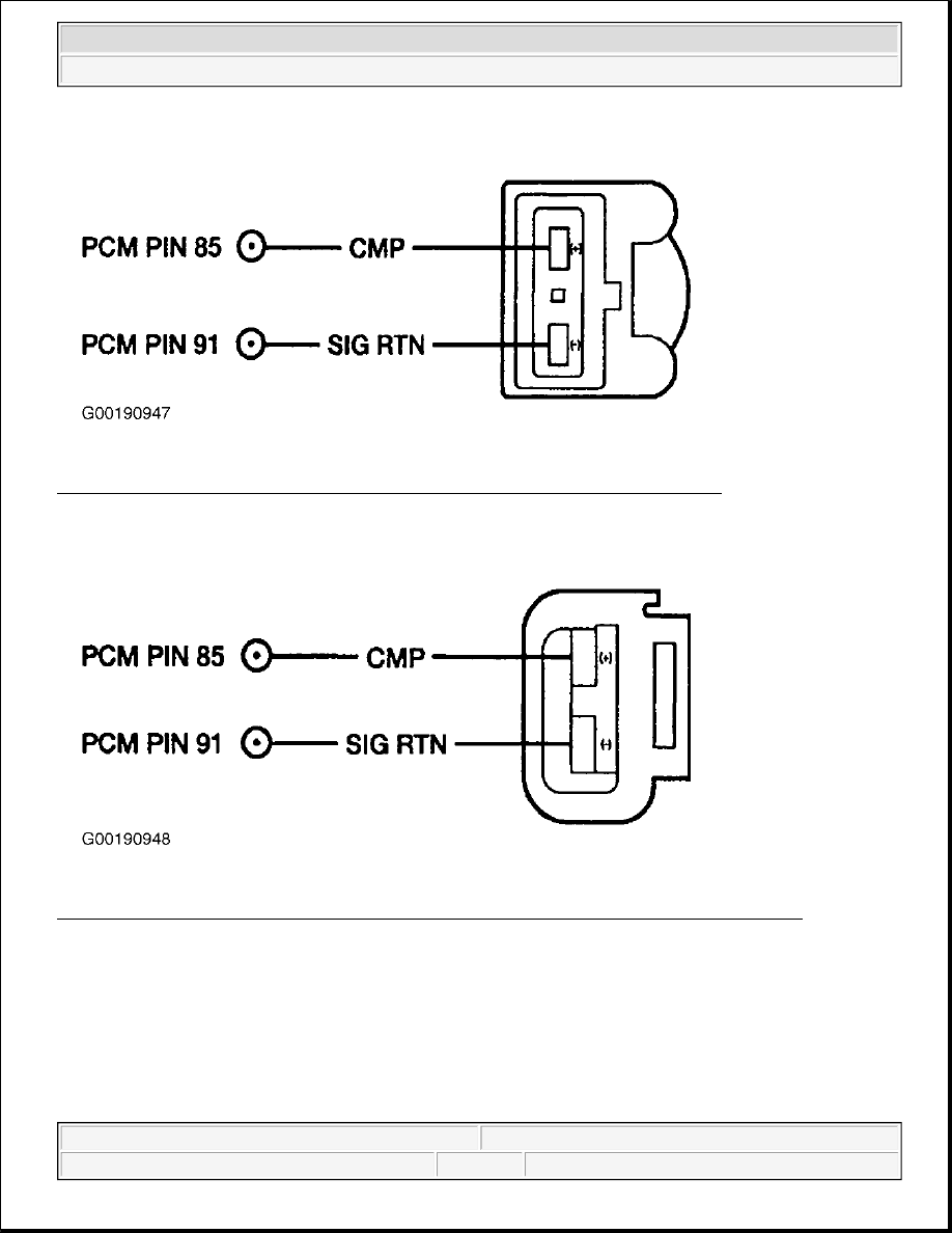 Ford F150 Pickup Instruction Part 1484 Wiring Terminals