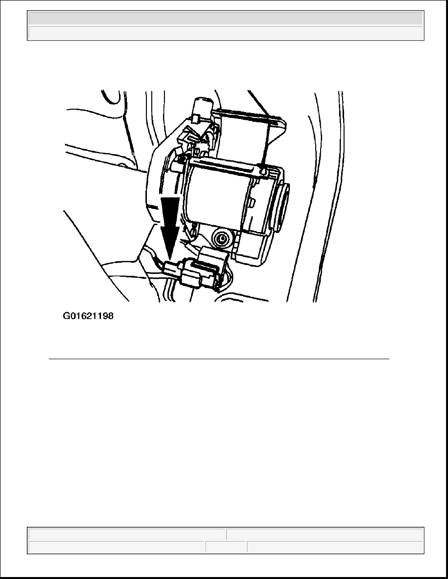 Ford F150 Pickup Instruction Part 1741 Seat Belt Retractor Diagrams 22 Disconnecting Driver Side Safety Pretensioner Electrical Connector Courtesy Of Motor Co